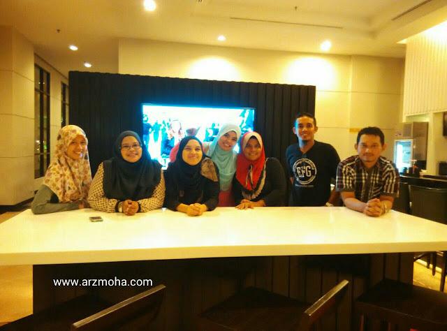 Blogger Utara, Gambar Bersama, Hotel Vistana,