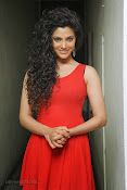 Saiyami Kher Hot in Red at Rey Trailer launch-thumbnail-5