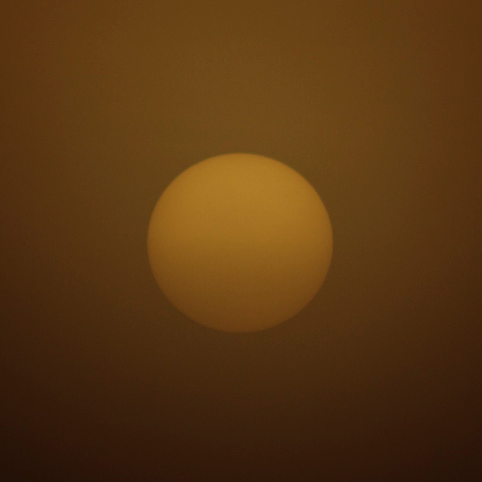 orange ball sunrise