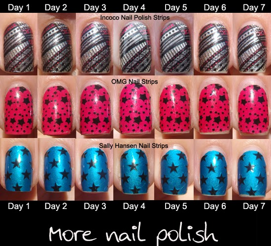 Incoco Nail Polish Applique review and wear test ~ More Nail Polish