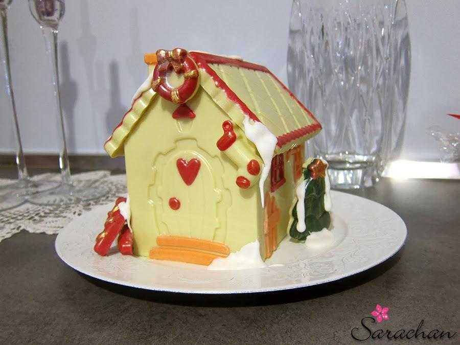 Casetta Di Natale Di Cioccolato : Goloso la casetta di cioccolato di babbo natale