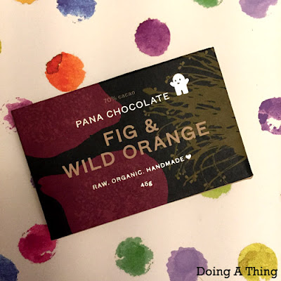 Pana Chocolate with Fig and Wild Orange