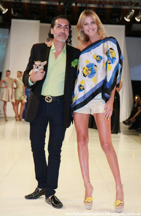 Cesar Juricich primavera verano 2013. Designers Look Buenos Aires.