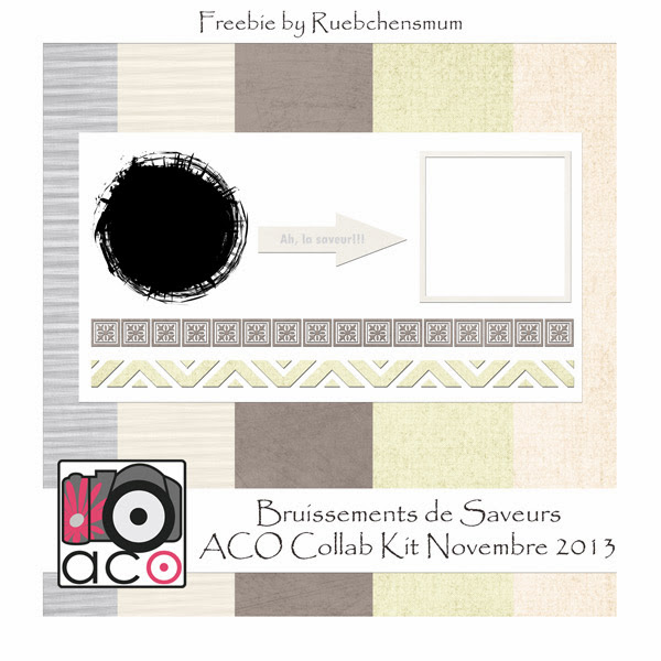 Bruissements de Saveurs - Freebie Collab Kit by ACO