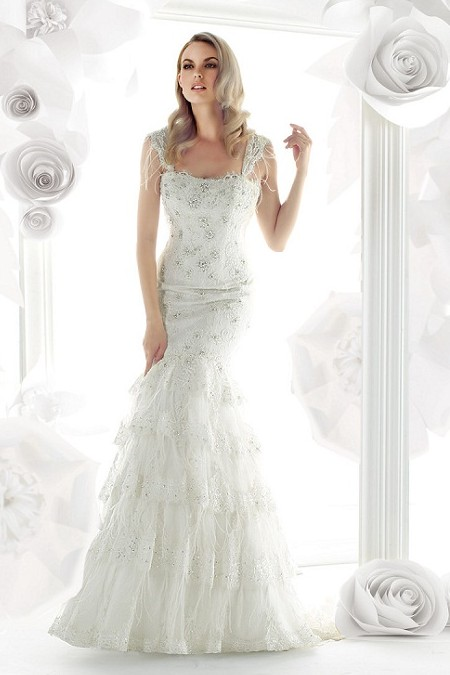 Wedding Dresses: Vintage Lace Wedding Dress