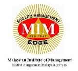 job vacancies at Malaysian Institute of Management (MIM)