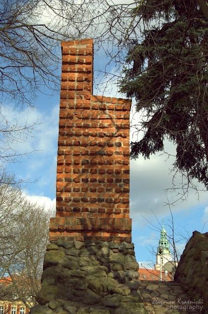 Fragment murów obronnych Olsztyna
