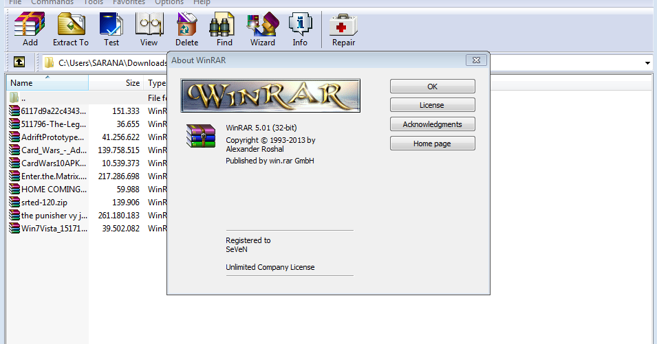 Waroeng Lesehan Gamer: Crack for WinRAR 3.90+ (Next Version Supported)