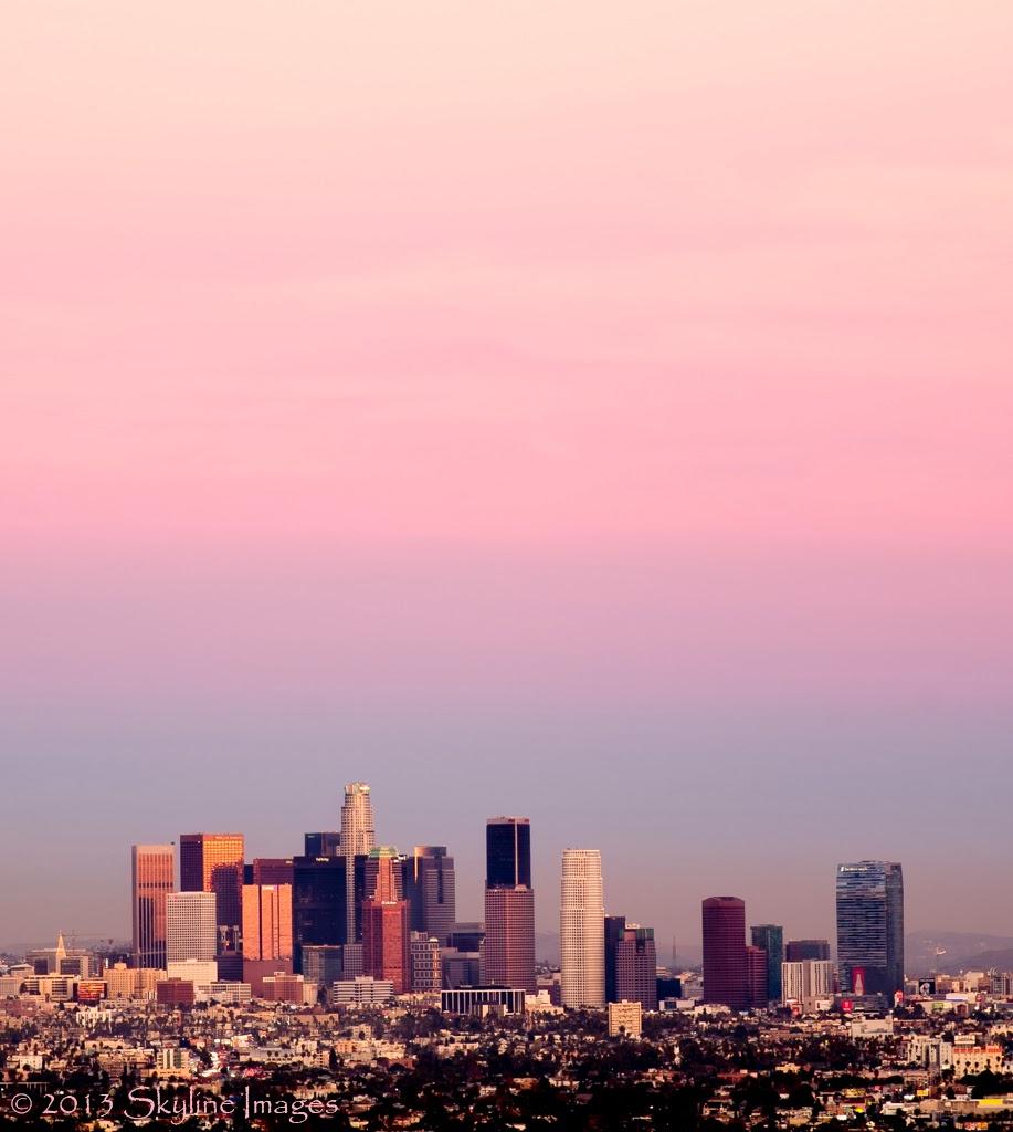 los angeles skyline view - photo #24