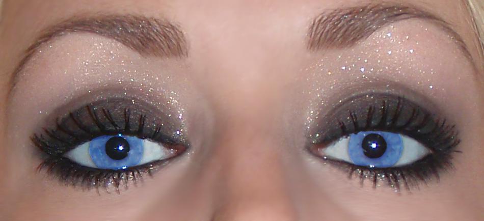 sotade ögon makeup