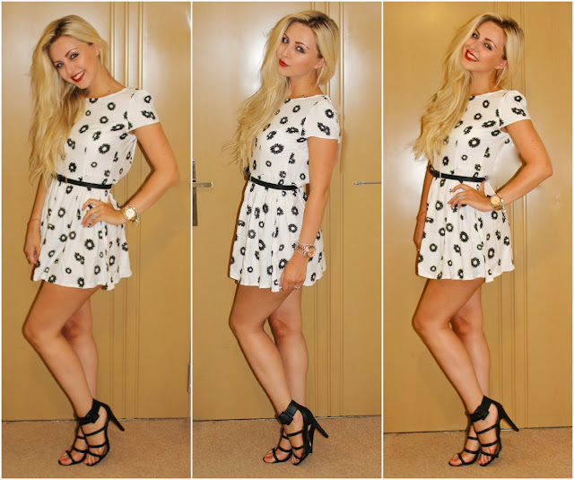 Motel Dress, Motel Rocks, Motel Daisy Dress Outfit, Motel Topi Dress, Outfit, OOTD, OOTD, Fashion, Kayleigh Louise Johnson, Couture Girl Blogspot, UK Beauty and Fashion Blog, Black Primark Zara Dupe Heels