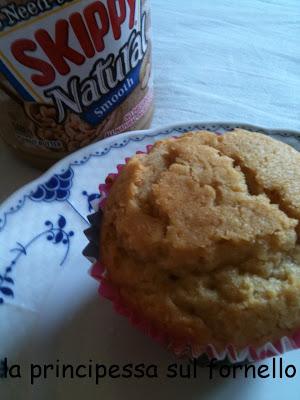 muffins al burro di arachidi, by giallozafferano