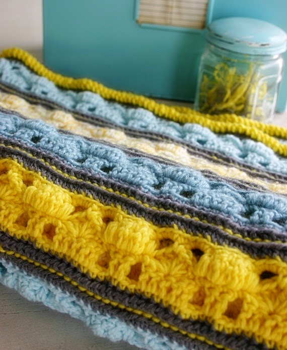 Coming Home Blanket crochet pattern by Felted Button (Susan Carlson)