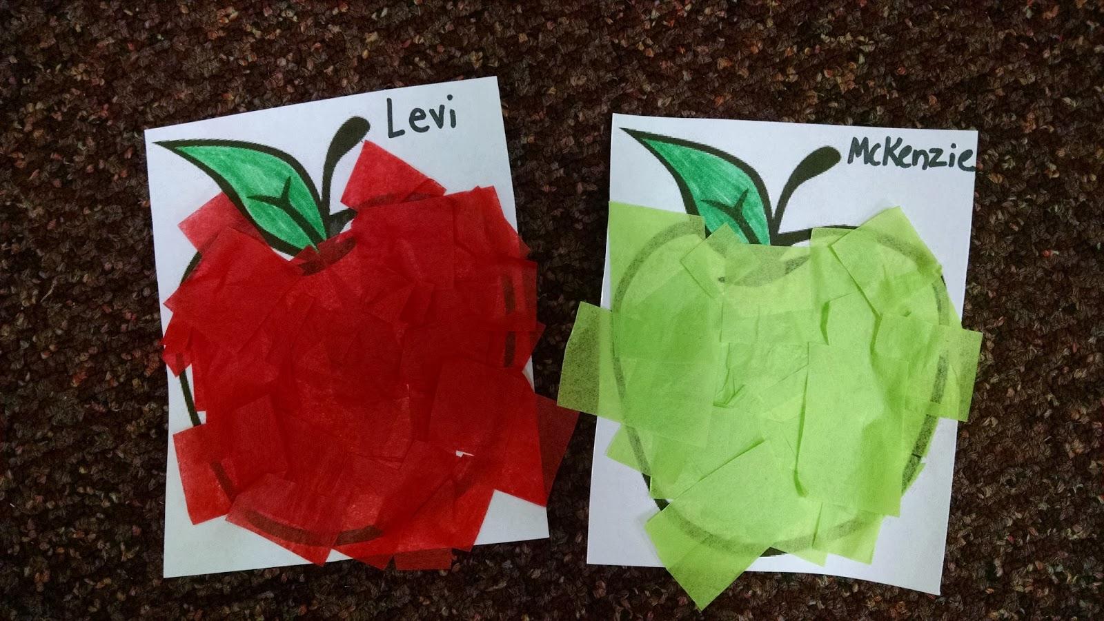 Sunflower Station Preschool: Apples