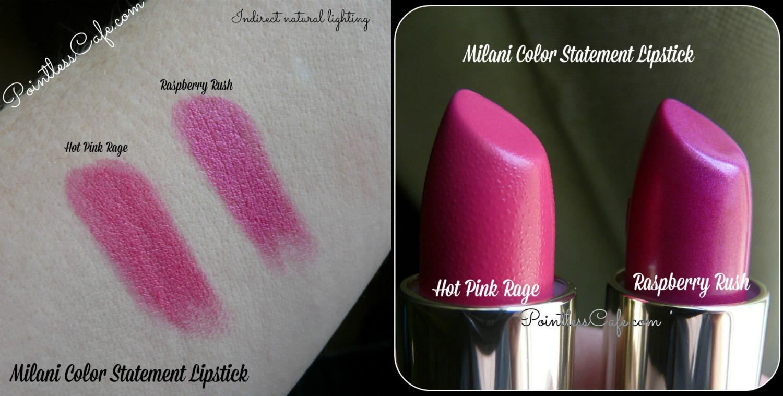 Milani Lipstick Natural Light