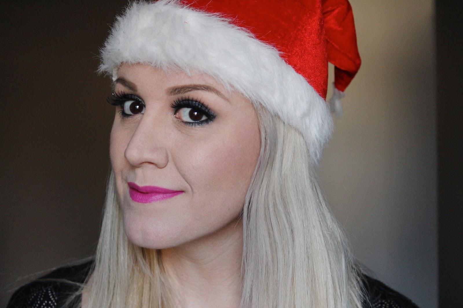 Novogodišnji look kreiran uz Avon šminku