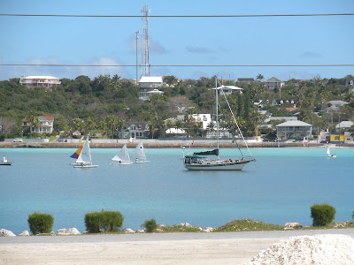 Sailing lessons in Governor's Harbour, Eleuthera, Bahamas