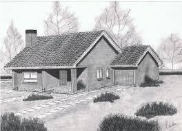 Apuntes revista digital de arquitectura bocetos casas en el campo - Casas dibujadas a lapiz ...