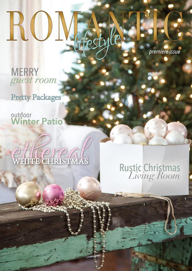 romantic lifestyle magazine, french country cottage