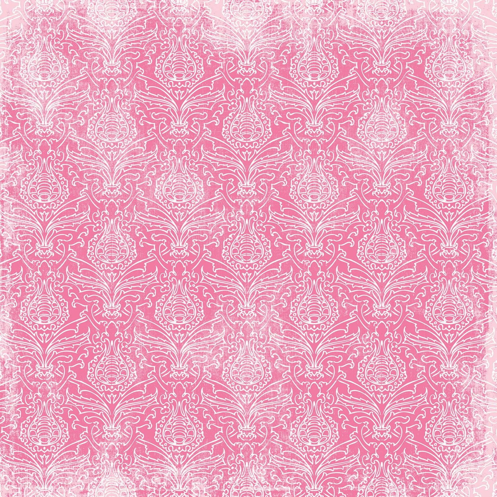 Pink Scrapbooking Digital Scrapbook Paper Pink
