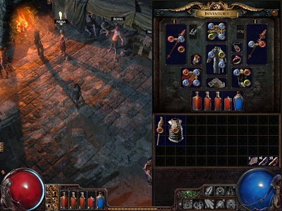 Path of Exile - Gems and Sockets