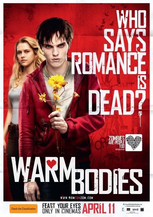 Warm Bodies (2013) DVD