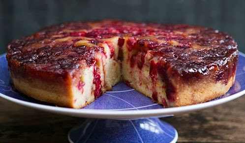 How to Make Cranberry Upside Down Cake Recipe