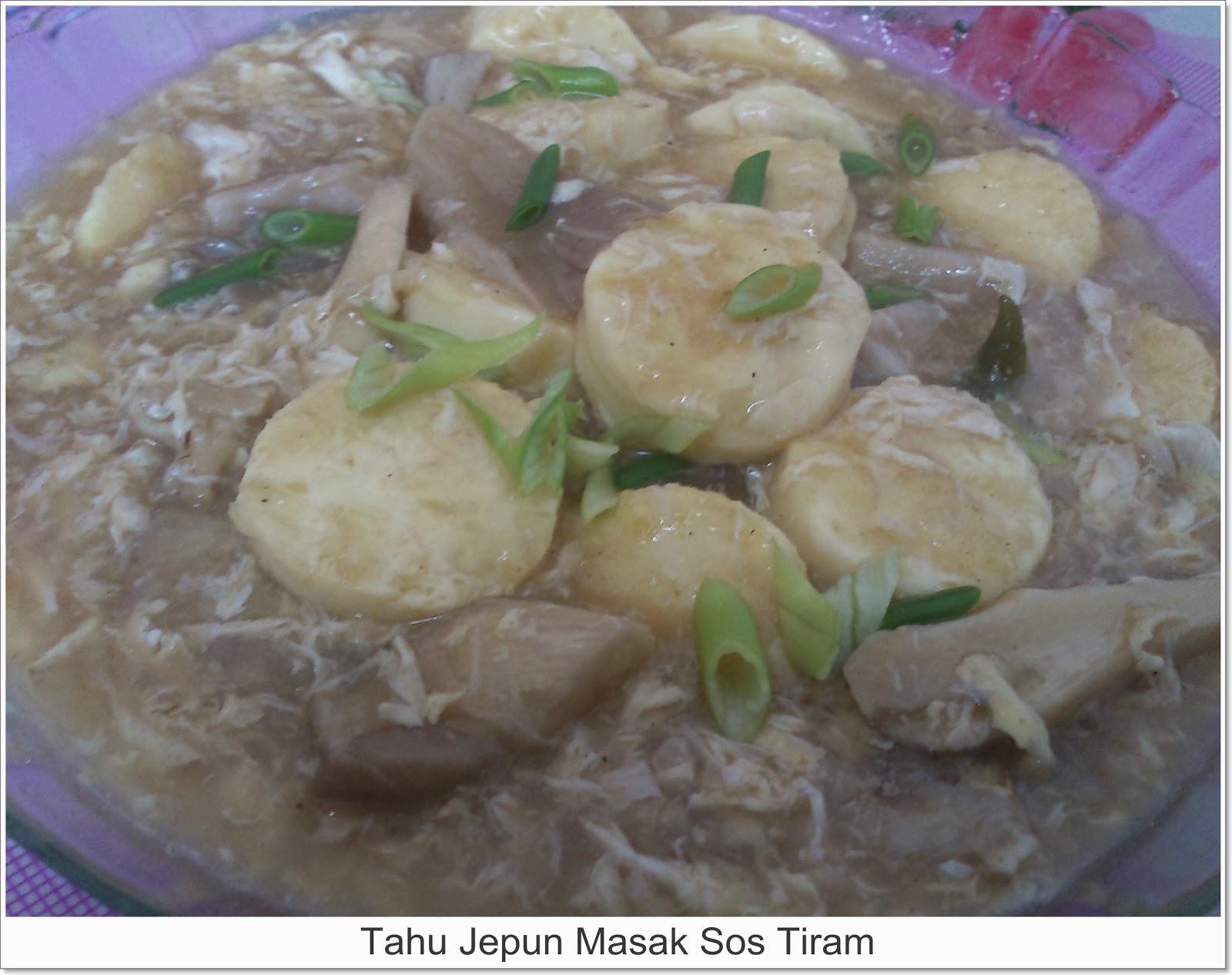 tofu telur