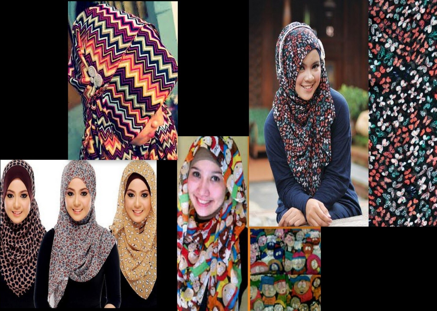 Trend Model Jilbab Kerudung 2014 Terbaru 2014