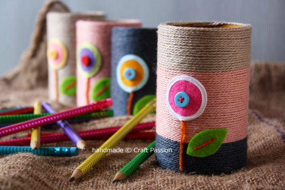 Recycling Toilet Rolls - Pencil Holder