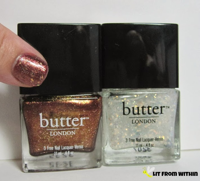 Bottle shot:  Butter London Brown Sugar and Brass Monkey