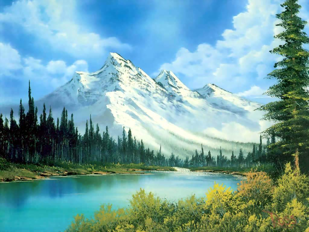 How To Use Bob Ross Oil Paint Medium