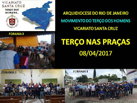 TERÇO NAS PRAÇAS 2017 - VICARIATO SANTA CRUZ - 08/04/2017