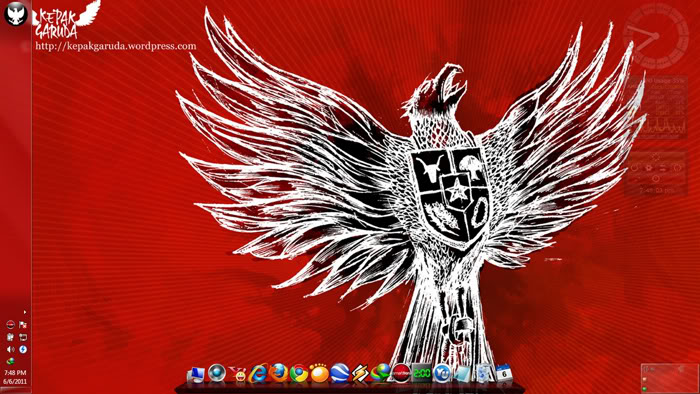 Theme Windows 7 Garuda Indonesia