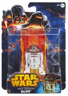Hasbro Star Wars Saga Legends R4-P17 Figure