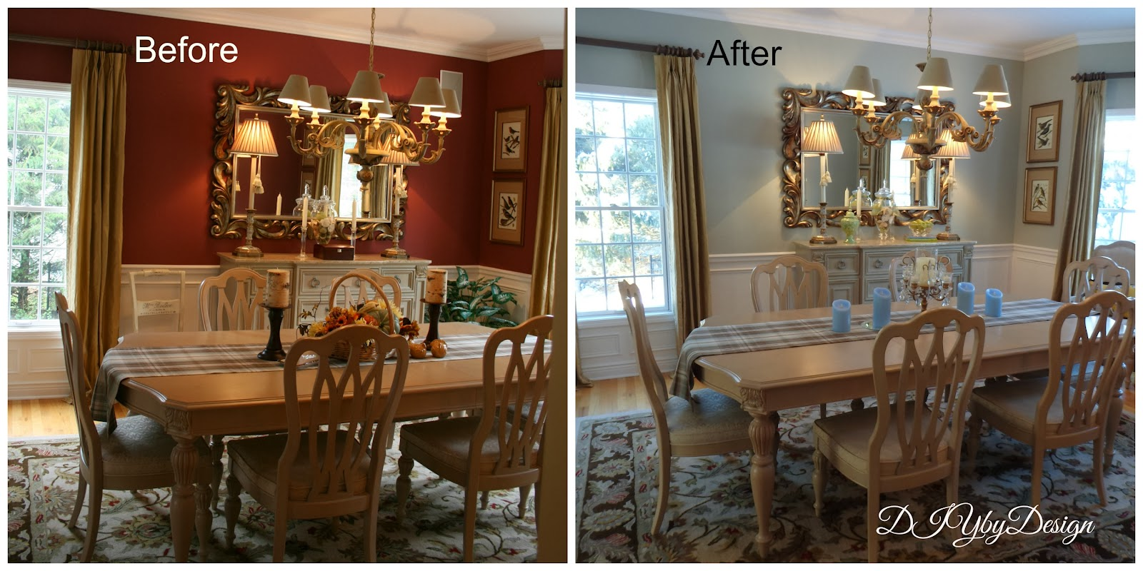 Diy by design lighter and brighter dining room reveal for Dining room or dinning room