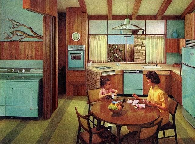 Midceylon Tury Retro Kitchen Inspiration