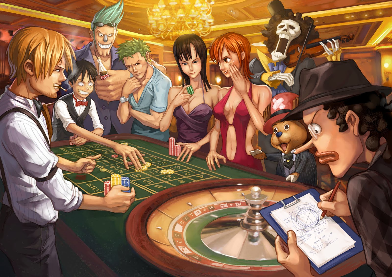 One Piece HD & Widescreen Wallpaper 0.999757725360077