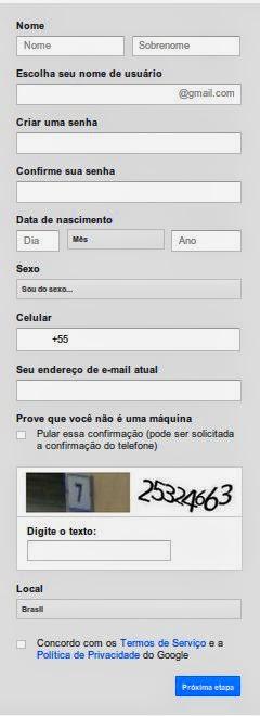 Como fazer um e-mail do Gmail.com