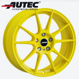 BMW M3 Felge Atomic yellow
