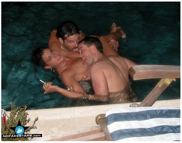 pool party threesome