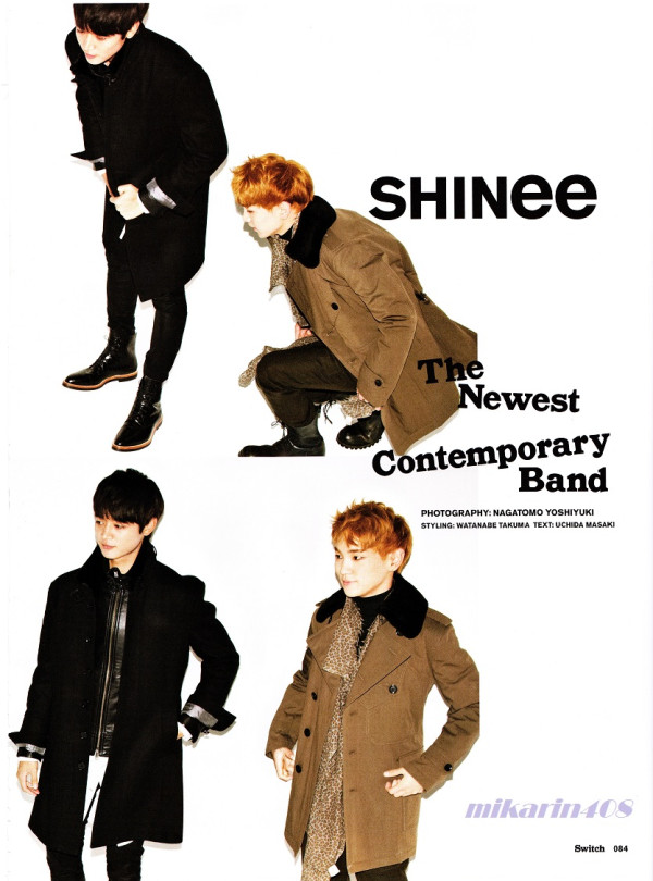 SHINee for Switch magazine volume 31