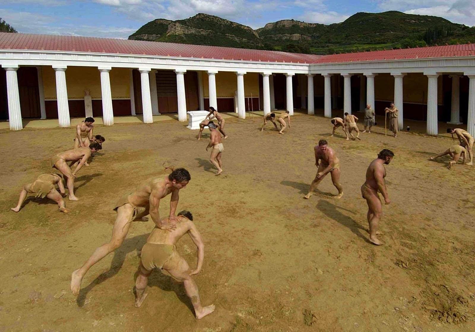 C mo los griegos hac an ejercicios sin pesas for Gimnasio 9 y 57