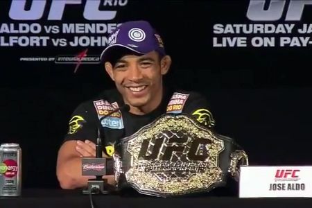 ufc mma featherweight champion jose aldo picture image