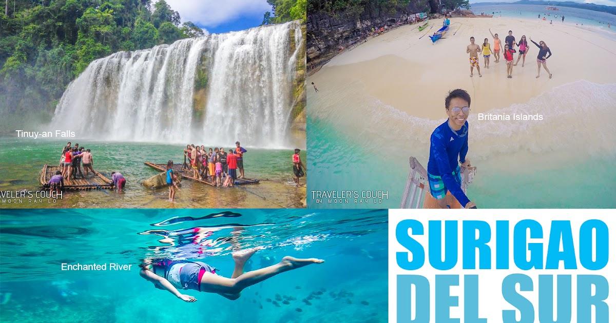 A Guide To Surigao Del Sur Philippines Enchanted River Tinuy An Falls Britania Island