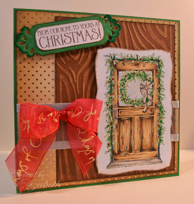 Our Daily Bread Designs, Christmas Door