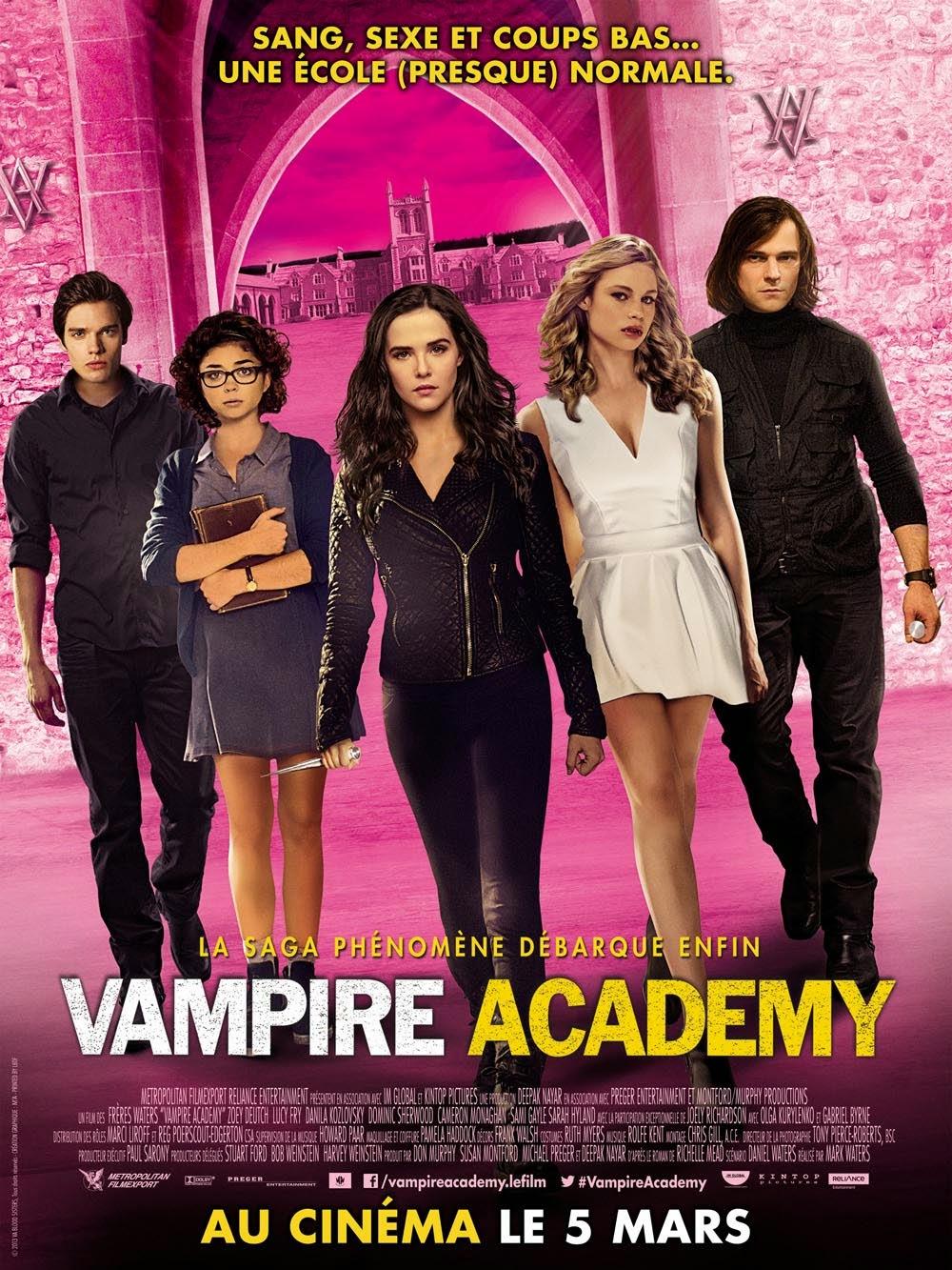 Vampire Academy affiche