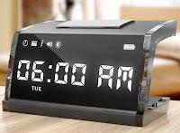 Despertador que dá choque
