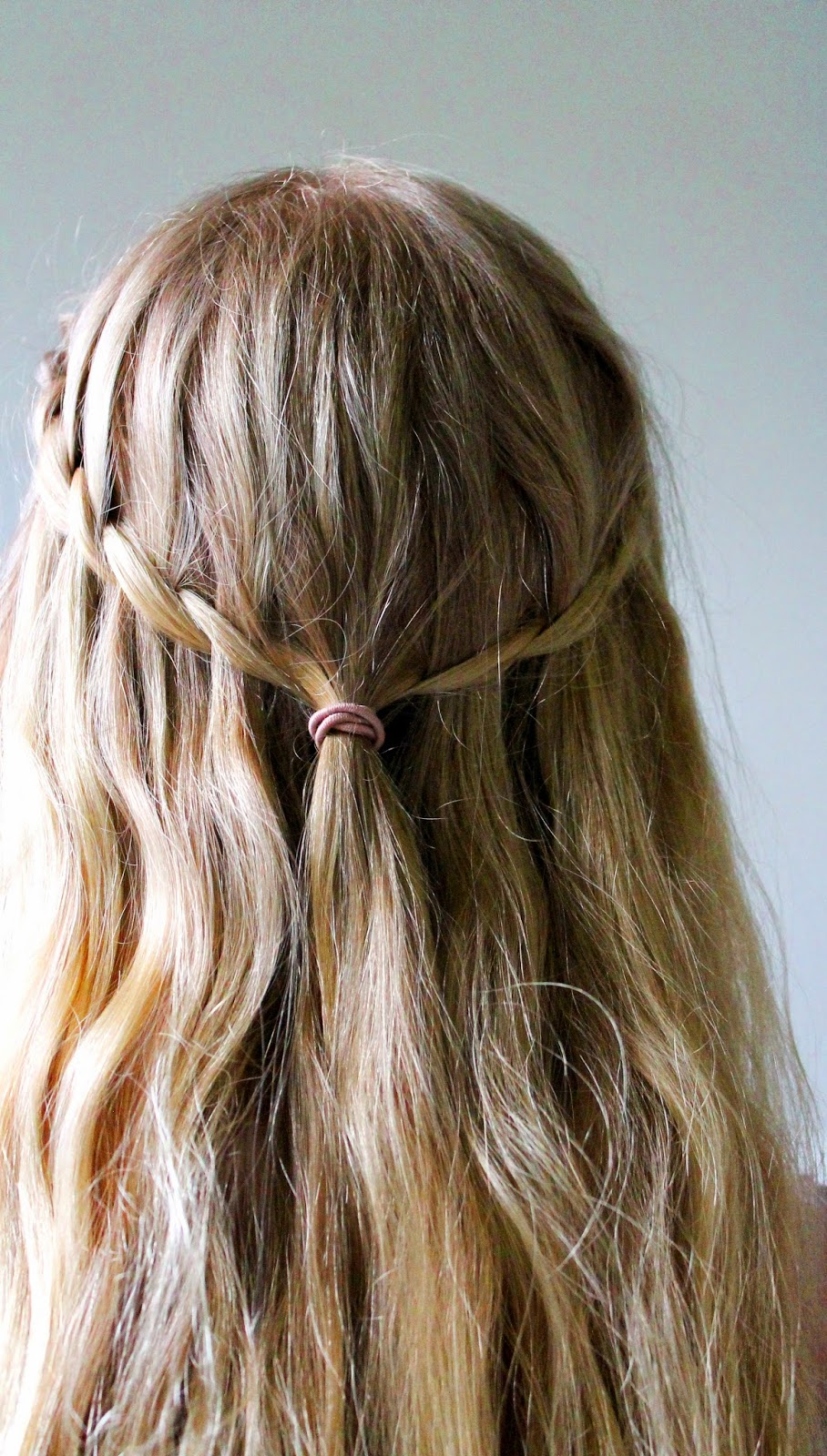 Waterfall braid | Alinan kotona blog