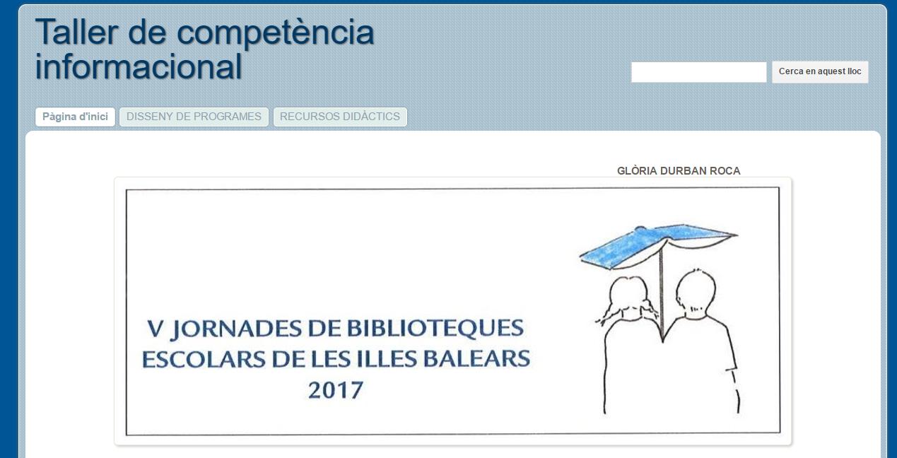 V Jornades de BE de les Illes Balears